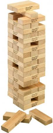 Настольная игра игральные кубики HASBRO Дженга Классика A2120 настольная игра hasbro дженга a2120