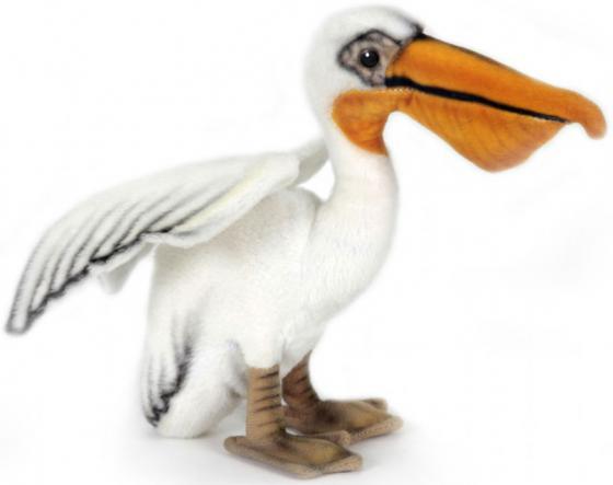 Мягкая игрушка пеликан Hansa 2960 16 см искусственный мех мягкая игрушка hansa филин  35 см 3678