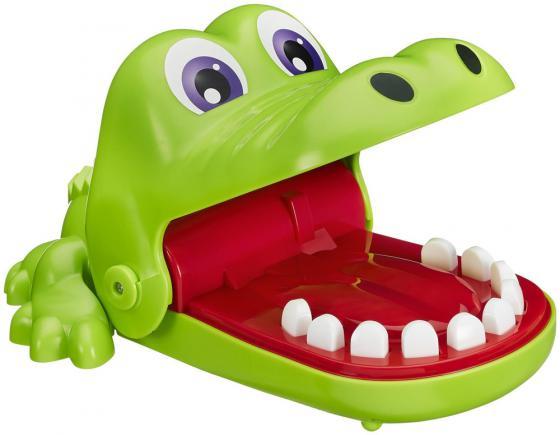 Настольная игра логическая HASBRO Крокодильчик Дантист В0408 настольная игра биплант логическая дети шпионы 10026