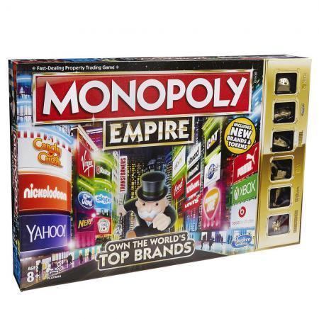 Настольная игра ходилка Hasbro Монополия Империя 5010994938673 hasbro hasbro настольная игра монополия игра престолов