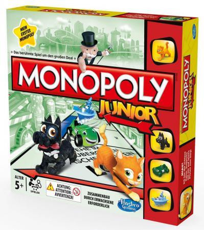 Настольная игра для вечеринки HASBRO Монополия Моя первая игра A6984H hasbro hasbro настольная игра games классическая монополия