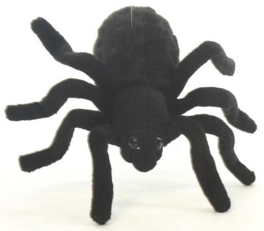 Мягкая игрушка тарантул Hansa 4729 19 см черный искусственный мех цена