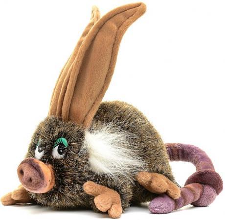 Мягкая игрушка Hansa Лесной троль девочка 43 см коричневый искусственный мех 6296 мягкая игрушка hansa филин  35 см 3678