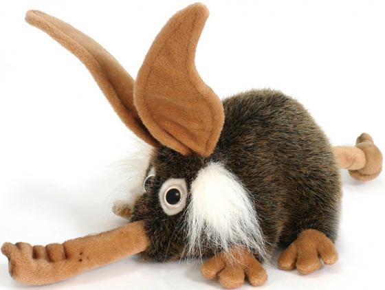 Мягкая игрушка Hansa Троль с носом 26 см коричневый искусственный мех 2768 мягкая игрушка hansa филин  35 см 3678