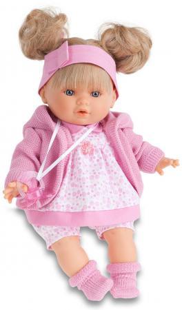 Кукла Munecas Antonio Juan Кристи в розовом 30 см плачущая 1337P кукла munecas antonio juan амалия 45 см в розовом 2810p