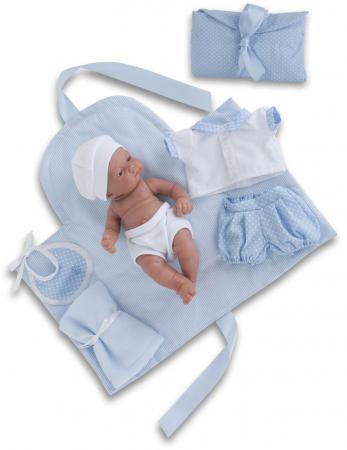 Кукла-младенец Munecas Antonio Juan Карлос с пеленальным комплектом 26 см мягкая 4064B thule 4064