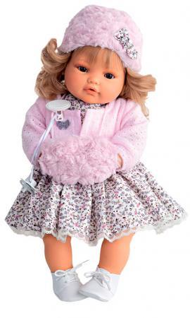 Кукла Munecas Antonio Juan Белла 42 см плачущая 1669P кукла munecas antonio juan белла первое причастие брюнетка в кремовом 2800br