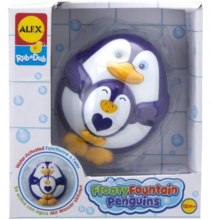 Пластмассовая игрушка для ванны ALEX Пингвиненок 841P пластмассовая игрушка для ванны alex полярный медвежонок 11 см 841b