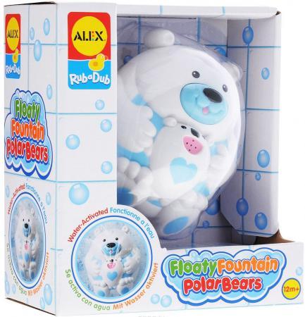 Пластмассовая игрушка для ванны ALEX Полярный медвежонок 11 см 841B пластмассовая игрушка для ванны alex полярный медвежонок 11 см 841b