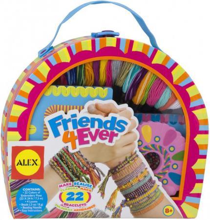 Набор для создания браслетов Alex Друзья 137X наборы для создания украшений alex большой набор для плетения браслетов друзья