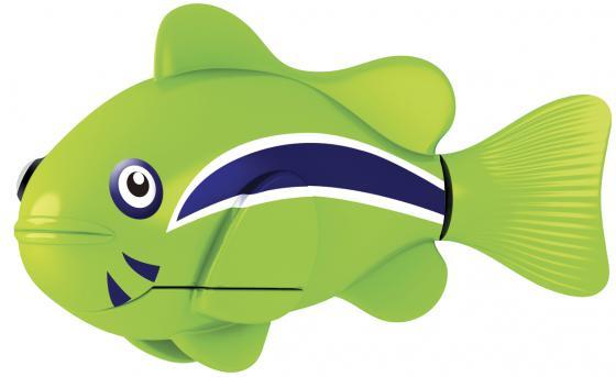 Интерактивная игрушка Robofish РобоРыбка Клоун от 3 лет зелёный 2501-1 интерактивная игрушка zuru robofish акула плавает в воде от 3 лет зелёный 2501 7