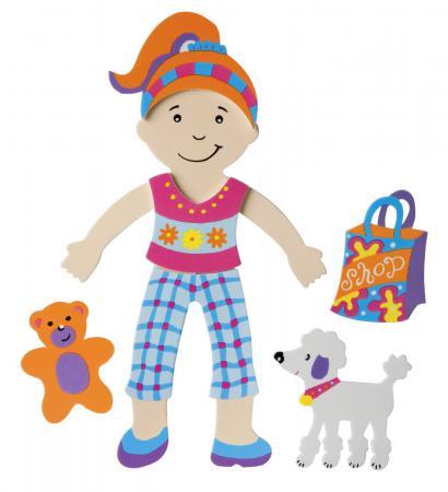 Набор стикеров для ванны Alex Одень куклу 806 умка сказочная мода одень куклу 50 наклеек