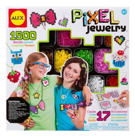 Набор для создания браслетов Alex Пиксели 1731 наборы для создания украшений alex большой набор для плетения браслетов друзья