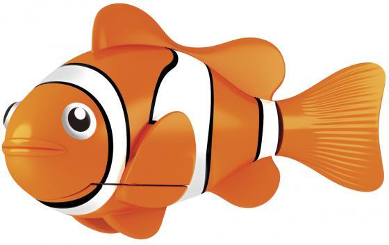 Интерактивная игрушка Robofish РобоРыбка Клоун от 3 лет жёлтый 2501-4 zuru роборыбка клоун желтая robofish