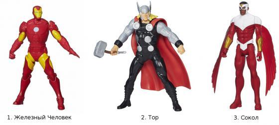 Фигурка Hasbro Avengers в ассортименте оружие игрушечное hasbro hasbro бластер nerf n strike mega rotofury
