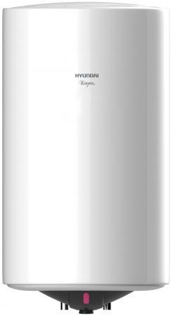 Водонагреватель накопительный Hyundai H-SWE1-50V-UI066 50л 1.5кВт белый обогреватель hyundai h ho4 05 ui895