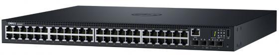 Коммутатор DELL N1548P 48 портов 10/100/1000Mbps SFP PoE+ 210-AEWB/001 new 455885 001 sfp 10g bcl sr 850nm module 456096 001