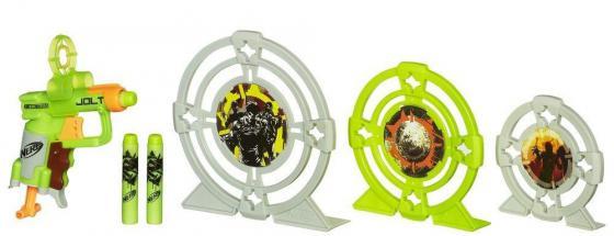 Набор Hasbro Nerf Зомби Страйк - Бластер и три мишени для мальчика 5010994776039 hasbro бластер зомби страйк двойная атака nerf