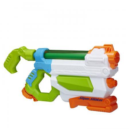 Водный бластер Nerf Супер Сокер Потоп для мальчика разноцветный A9466 игрушка бластер нёрф сокер соказука