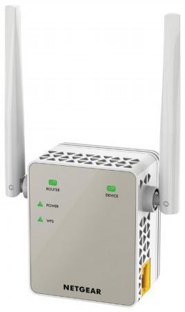 Ретранслятор NETGEAR EX6120-100PES 802.11n 300Mbps 1xLAN