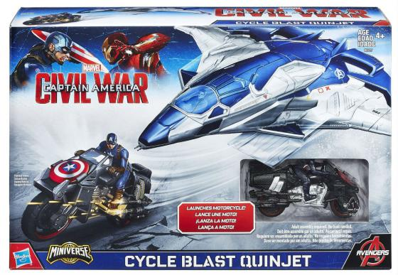 Игровой набор Hasbro Транспортное средство Мстителей B5777 мотоцикл игрушечный hasbro avengers транспортное средство мстителей