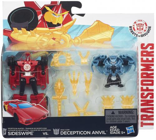 Трансформер Transformers Robots In Disguise Mini-con: Бэтл-Пэкс 5010994930301 дневник transformers