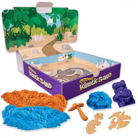 Песок для лепки Kinetic Sand. Игровой набор c формочками, 340 грамм 71415