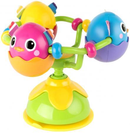 Развививающая игрушка Tomy Веселые утята, с присоской tomy игрушка с присоской на стульчике веселые утята tomy lamaze