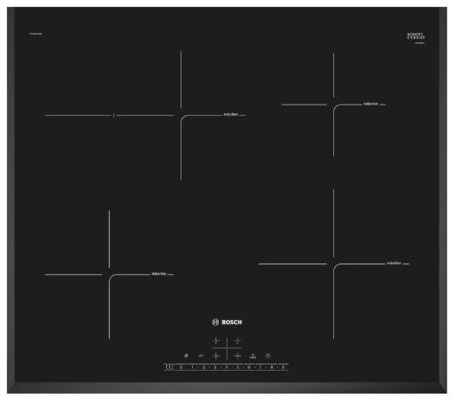Варочная панель электрическая Bosch PIF651FB1E черный варочная панель индукционная bosch pif651fb1e