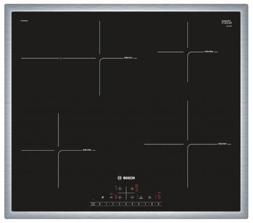 Варочная панель электрическая Bosch PIF645FB1E черный электрическая варочная панель bosch pkf645ca1e