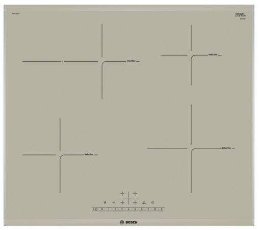 Варочная панель электрическая Bosch PIF673FB1E белый варочная панель электрическая bosch pif672fb1e белый