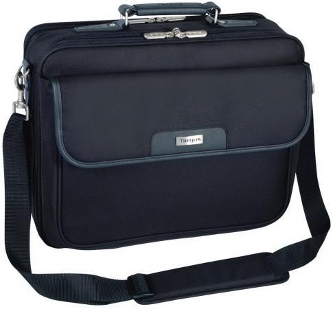 Сумка для ноутбука 15.4 Targus Notepac Plus CNP1 полиэстер черный сумка для ноутбука targus tbt239eu 51 15 6 полиэстер черный