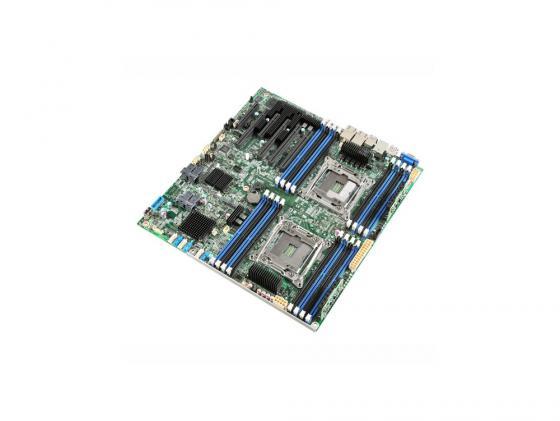 Материнская плата Intel DBS2600CW2SR Socket 2011-3 C612 16xDDR4 4xPCI-E 16x 2xPCI-E 8x 10xSATAIII EATX Retail рубашка поло с длинным рукавом gaudi рубашка поло с длинным рукавом