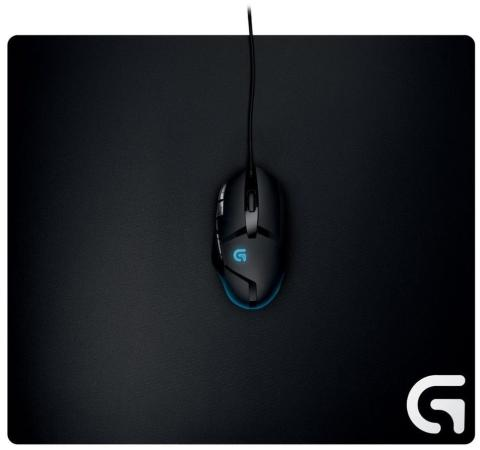 Коврик для мыши Logitech G640 Cloth Gaming Mouse Pad 943-000089 коврик logitech g240 cloth gaming mouse pad 943 000044 943 000094