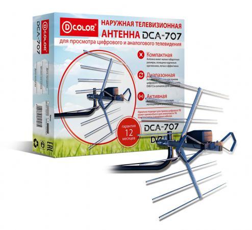 Антенна D-Color DCA-707 медиаплеер d color a201