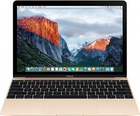 Ноутбук Apple MacBook 12 2304x1440 Intel Core M5-6Y54 512 Gb 8Gb Intel HD Graphics 515 золотистый Mac OS X MLHF2RU/A ноутбук apple macbook core m3 1 2ghz 12 8gb ssf256gb hdg615 mac os x gray mnyf2ru a