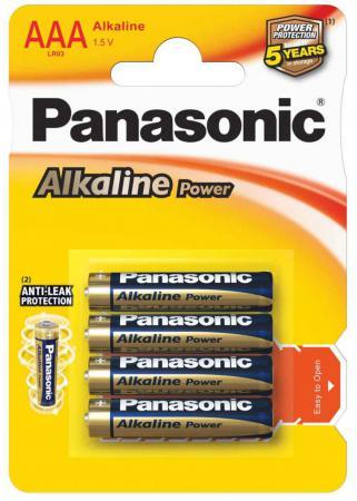 Батарейки Panasonic Alkaline Power LR03REB/4BP AAA 4 шт цены онлайн