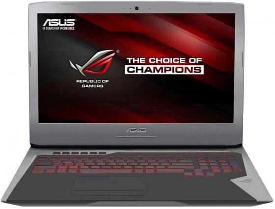 Ноутбук ASUS G752VY-GC260T 17.3 1920x1080 Intel Core i7-6820HK 2Tb + 512 SSD 64Gb nVidia GeForce GTX 980M 8192 Мб серебристый Windows 10 Home 90NB09V1-M02980
