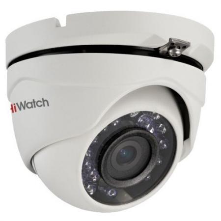 Камера видеонаблюдения Hikvision DS-T103 уличная цветная 1/4 CMOS 3.6 мм ИК до 15 м ip камера hiwatch ds i122 4 mm 1 3мп уличная купольная мини ip камера ик подсветкой до 15м 1 3 cmos матрица объектив 4мм угол обзора 73 1° ме