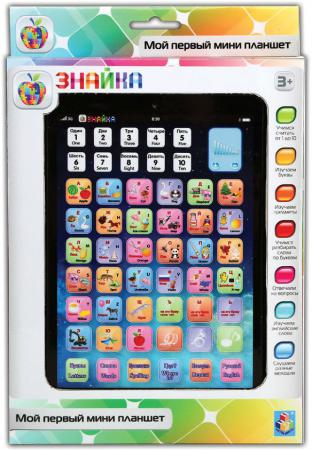 все цены на Обучающий мини планшет 1 Toy двуязычный интерактивный Знайка Т57329