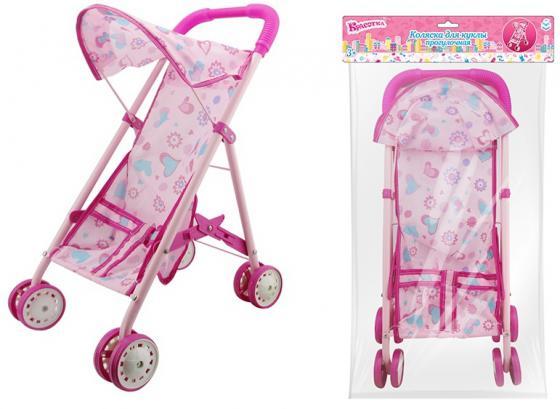 Коляска для кукол 1Toy Т58752 1toy транспорт для кукол коляска цвет синий