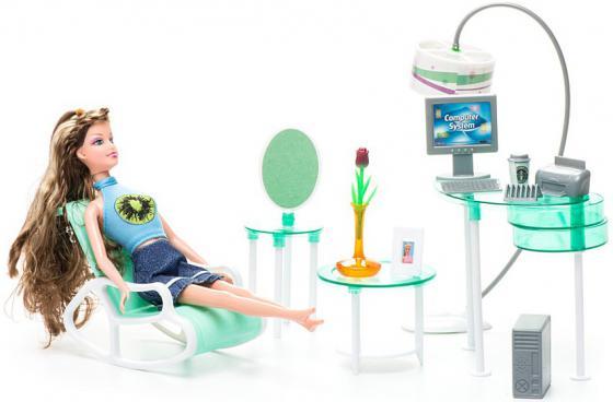 Набор мебели 1Toy офис - Красотка Т54498 1toy с мебелью 187 деталей красотка