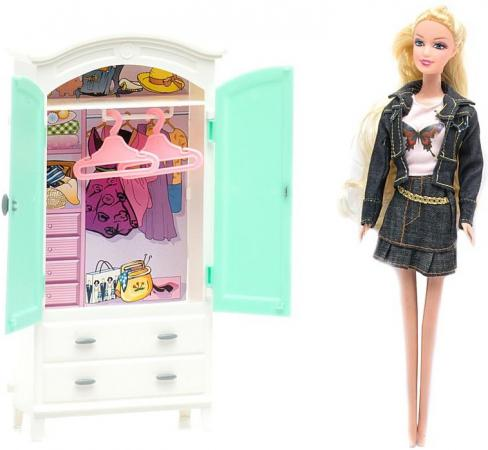 Набор мебели 1Toy гардероб - Красотка Т54494
