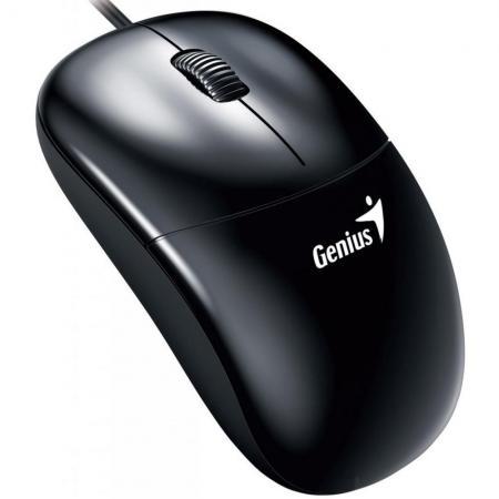 Мышь проводная Genius DX-135 чёрный USB