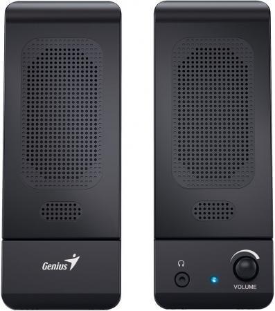 Колонки Genius SP-U120 2х1.5 Вт черный колонки genius sp u115 2x0 75 вт usb черный