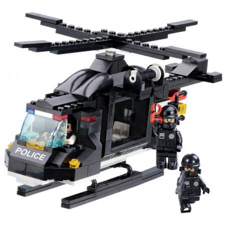 где купить Конструктор 1Toy Полицейский спецназ - Воздушная охрана 200 элементов Т57018 по лучшей цене