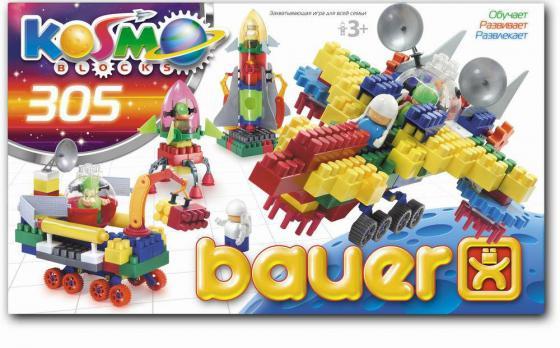 Конструктор Bauer Космос 305 элементов конструкторы bauer стройка 50 элементов