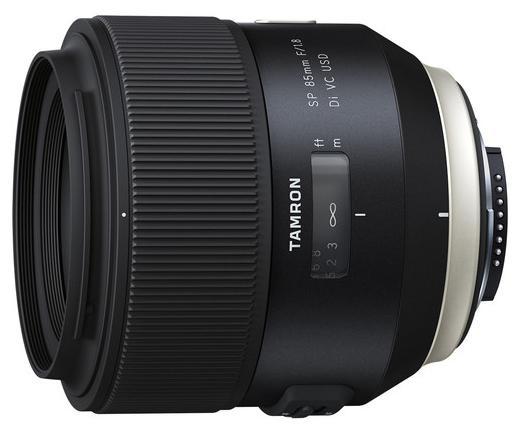 Объектив Tamron SP 85мм F/1.8 Di VC USD для Nikon F016N tamron sp 15–30 mm f 2 8 di vc usd nikon объектив