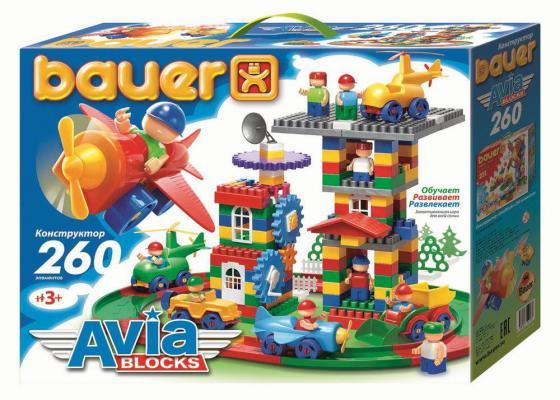 Конструктор Bauer Avia 260 элементов 247 конструктор bauer космос 305 элементов