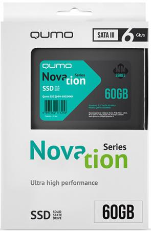Твердотельный накопитель SSD 2.5 60GB QUMO QMM-60GSN SATAIII OEM alpina granby s qmm black matt qmm red sph s2
